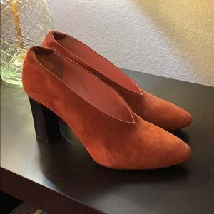 Acne Shoes - Aja suede pumps